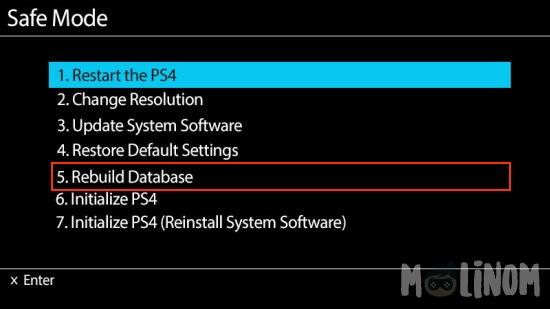 playstation 4 hdd bakım ps4 hdd rebuild