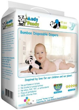 Award-Winning Children's book — Andy Pandy Premium Bamboo Disposable Diapers