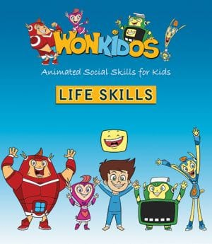 Award-Winning Children's book — Wonkido Animated Social Skills