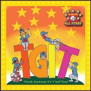 Award-Winning Children's book — TGIT Thank Goodness It's T-Ball Day