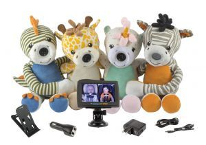 Award-Winning Children's book — Zooby Car and home Video Baby Monitor