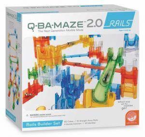 Award-Winning Children's book — Q-BA-MAZE 2.0: Rails Builder Set