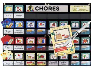 Award-Winning Children's book — NEATLINGS Chore Chart System
