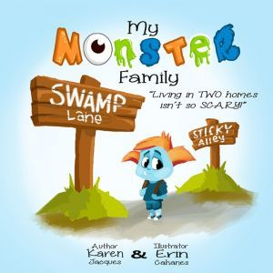 Award-Winning Children's book — My Monster Family