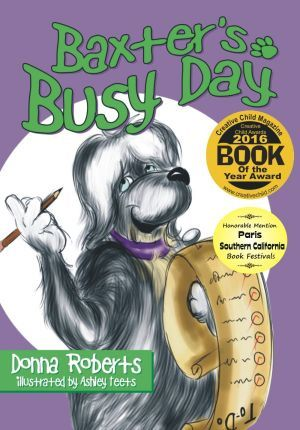 Award-Winning Children's book — Baxter's Busy Day
