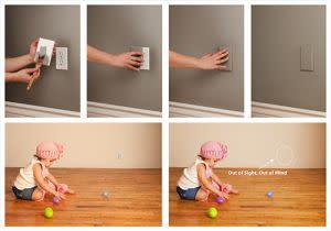 Award-Winning Children's book — Dreambaby Paintable CoverPlug