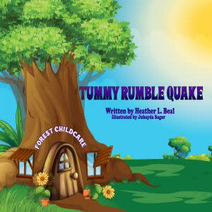 Award-Winning Children's book — Tummy Rumble Quake