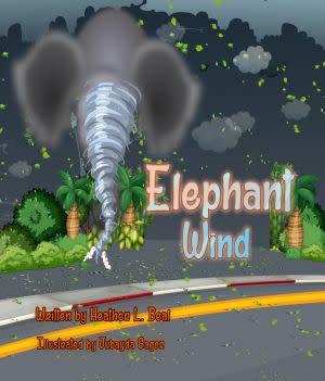 Award-Winning Children's book — Elephant Wind