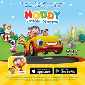 Award-Winning Children's book — Noddy Toyland Detective