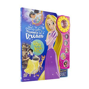 Award-Winning Children's book — Disney Princess: Dance and Dream
