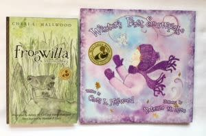 Award-Winning Children's book — Special Holiday Bundle: Winter's First Snowflake + Frogwilla, A Treefrog's Story