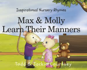 Award-Winning Children's book — Max & Molly Learn Their Manners