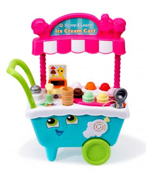 Award-Winning Children's book — Scoop & Learn Ice Cream Cart™