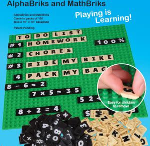 Award-Winning Children's book — AlphaBriks and MathBriks