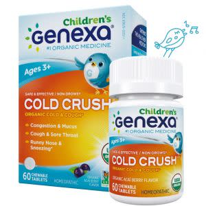 Award-Winning Children's book — Genexa® Cold Crush for Children