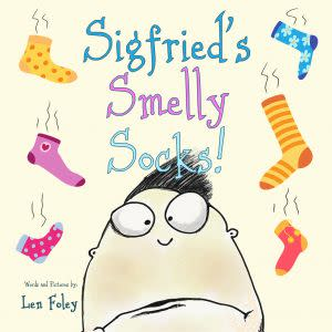 Award-Winning Children's book — Sigfried's Smelly Socks!
