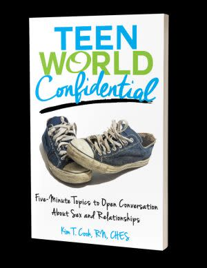Award-Winning Children's book — Teen World Confidential: Five-Minute Topics to Open Conversation About Sex and Relationships
