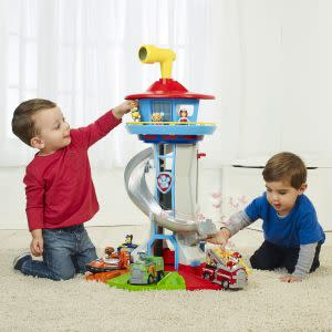Award-Winning Children's book — Paw Patrol – My Size Lookout Tower