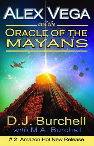 Award-Winning Children's book — Alex Vega and the Oracle of the Mayans