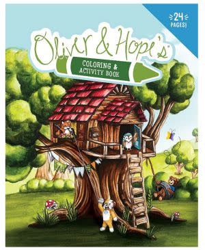 Award-Winning Children's book — Oliver & Hope's Coloring & Activity Book