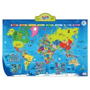 Award-Winning Children's book — i-Poster My WORLD Interactive Map