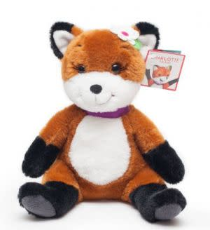 Award-Winning Children's book — Charlotte the Fox Plush Toy (From the Award Winning Oliver & Hope Storybook Adventures)