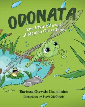 Award-Winning Children's book — Odonata The Flying Jewel of Maiden Grass Pond