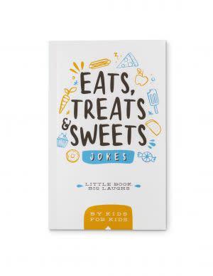 Award-Winning Children's book — Little Book Big Laughs - Eats, Treats & Sweets Jokes