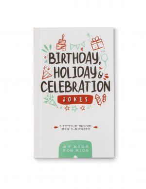 Award-Winning Children's book — Little Book Big Laughs - Birthday, Holiday & Celebration Jokes (By Kids for Kids)