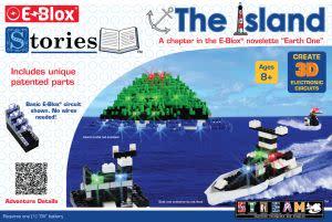 Award-Winning Children's book — E-Blox Stories - The Island