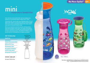 Award-Winning Children's book — WOW CUP MINI