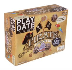Award-Winning Children's book — Pirate Adventure Playdate in a Box