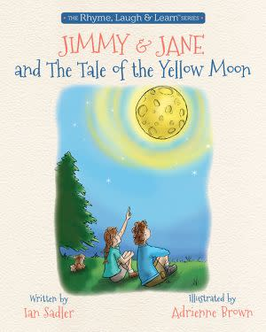 Award-Winning Children's book — Jimmy and Jane and the Tale of the Yellow Moon