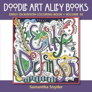 Award-Winning Children's book — Emily Dickinson Coloring Book