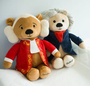 Award-Winning Children's book — Virtuoso Bears (available in Amadeus and Ludwig)