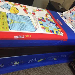 Award-Winning Children's book — Playtime Bed Sheets