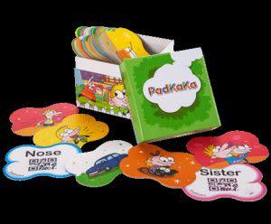 Award-Winning Children's book — PadKaKa (English Animation Vocabulary Cards)