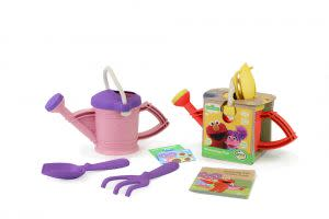 Award-Winning Children's book — Elmo and Abby Watering Cans