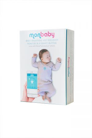 Award-Winning Children's book — MonBaby Smart Button - A Smart Baby Breathing and Movement Monitor