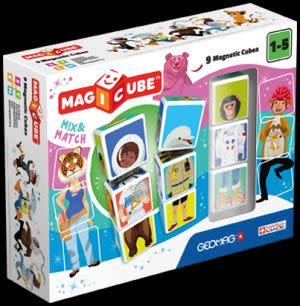 Award-Winning Children's book — Magicube Mix and Match 9 pieces