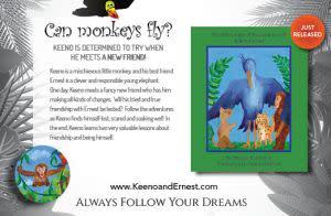 Award-Winning Children's book — The Adventures of Keeno & Ernest