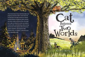 Award-Winning Children's book — Cat Between Two Worlds