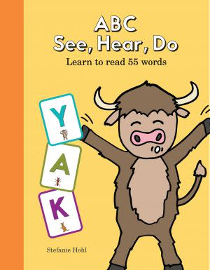 Award-Winning Children's book — ABC See, Hear, Do
