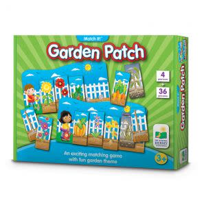 Award-Winning Children's book — Match It! Garden Patch