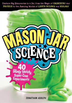 Award-Winning Children's book — Mason Jar Science