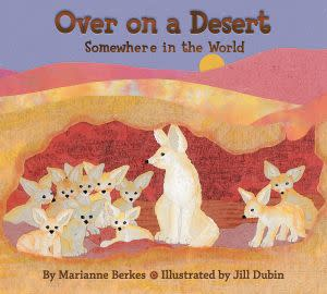 Award-Winning Children's book — Over on a Desert