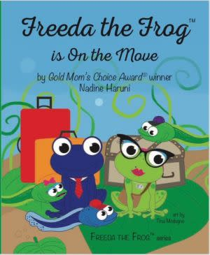Award-Winning Children's book — Freeda The Frog™ Is On The Move
