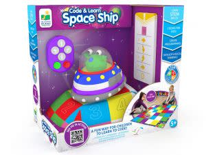 Award-Winning Children's book — Code & Learn Space Ship