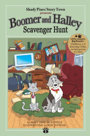 Award-Winning Children's book — Boomer and Halley Scavenger Hunt