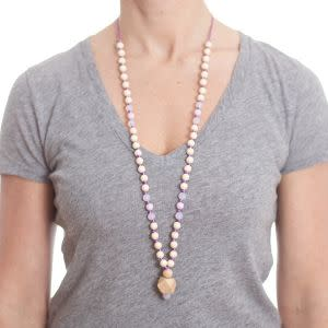 Award-Winning Children's book — anjie + ash Goddess Collection Clarity Silicone Teething Necklace